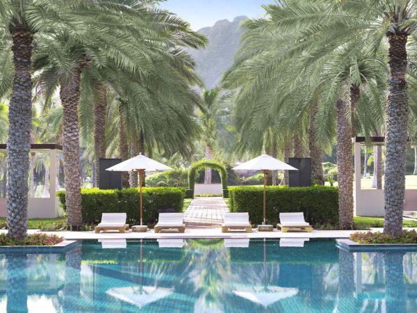 Al Bustan Palace A Ritz Carlton Hotel Beach View