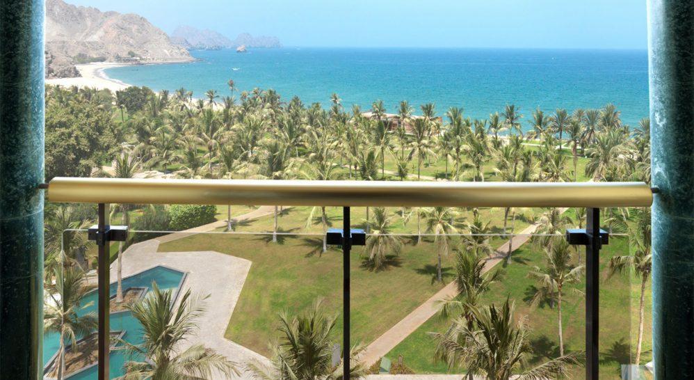 Al Bustan Palace A Ritz Carlton Hotel Deluxe Room Sea View