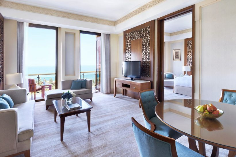 Al Bustan Palace A Ritz Carlton Hotel Executive Suite Sea View Suite