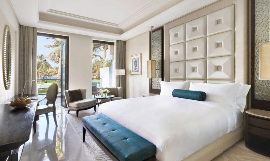 Al Bustan Palace A Ritz Carlton Hotel Lagoon Bedroom