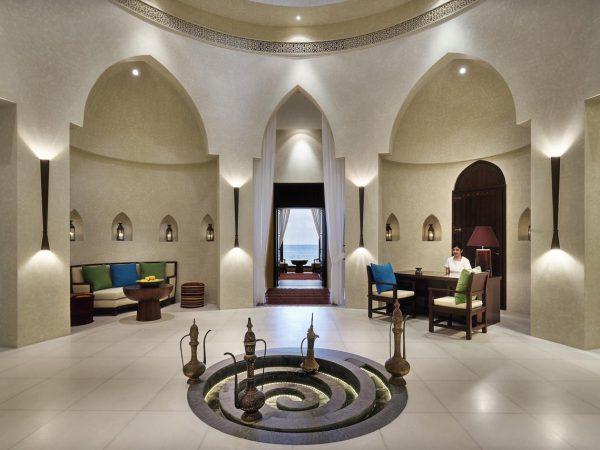 Al Bustan Palace A Ritz Carlton Hotel Spa Reception