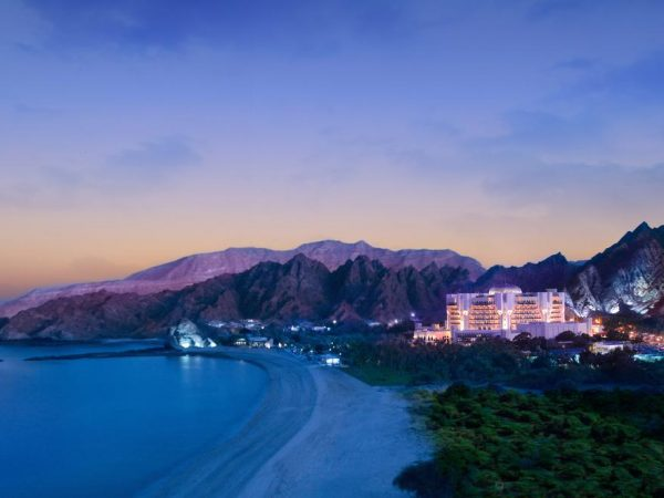 Al Bustan Palace A Ritz Carlton Hotel Night View
