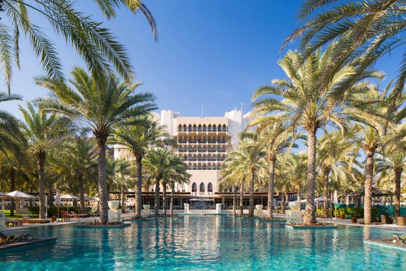 Al Bustan Palace A Ritz Carlton Hotel Pool