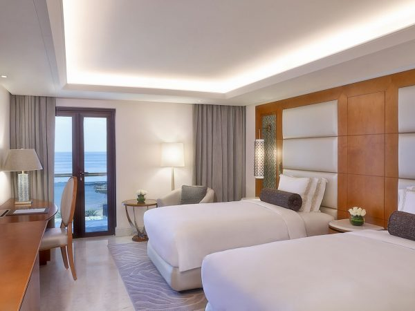 Al Bustan Palace A Ritz Carlton Hotel Presidential Sea View Suite