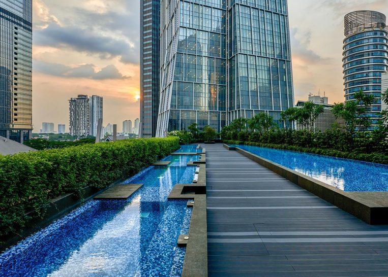 Alila SCBD Jakarta Pool Terrace