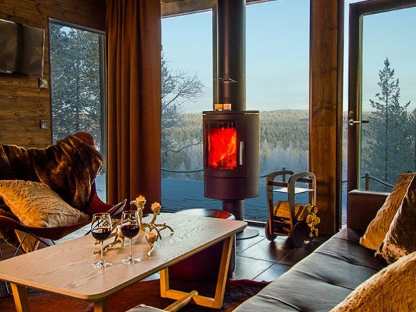 Arctic TreeHouse Hotel Arctic GlassHouse