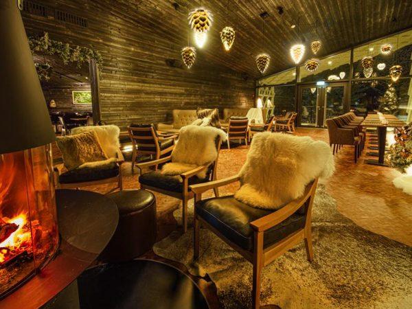 Arctic TreeHouse Hotel Interior