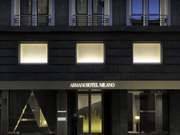 Armani Hotel Milano Day View Front