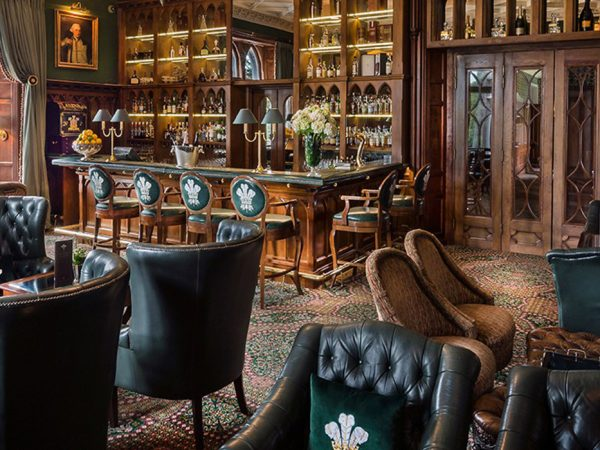 Ashford Castle Afternoon The Prince of Wales Bar