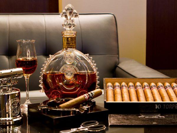 Ashford Castle Cigar Terrace