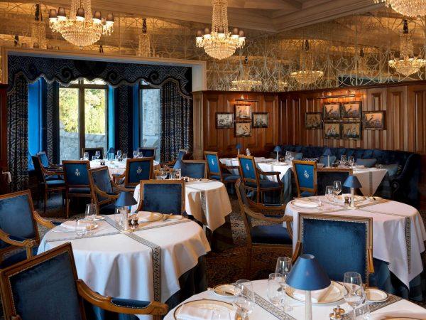 Ashford Castle George V Dining Room