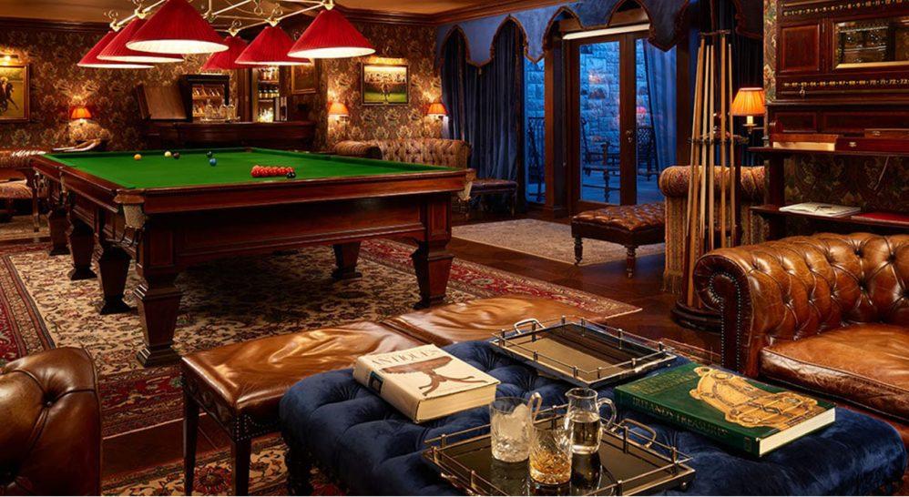 Ashford Castle The Billiards Room