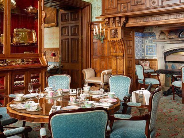 Ashford Castle The Inglenook Room