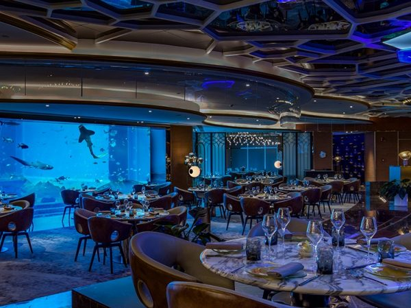 Atlantis Sanya Ossiano Underwater Bar And Restaurant