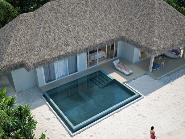 Baglioni Resort Maldives Lobby Top View