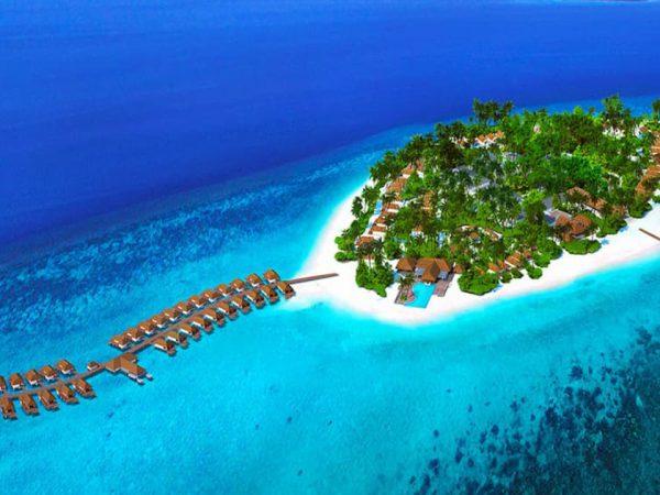 Baglioni Resort Maldives Top View