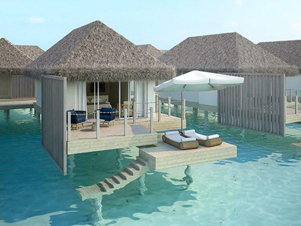Baglioni Resort Maldives Water Villa Sunset