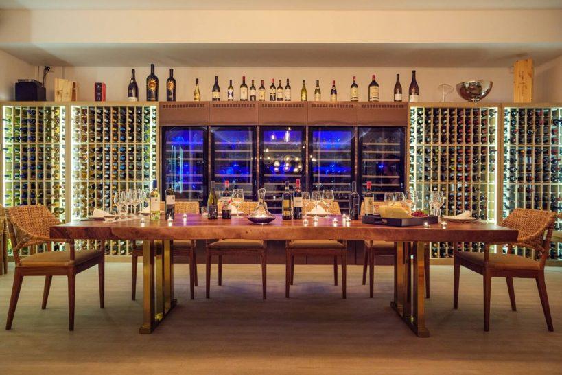 Baglioni Resort Maldives Wine Cellar