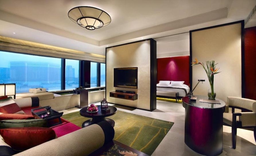 Banyan Tree Macau Cotai Pool Suite King Resort View
