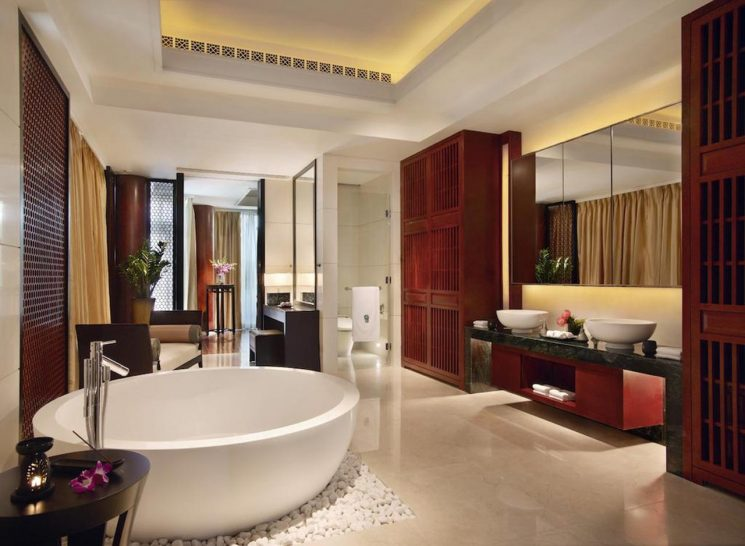 Banyan Tree Macau Cotai Pool Suite Twin Resort View