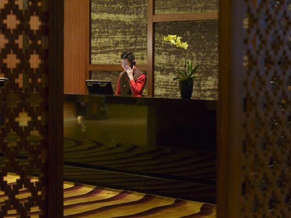 Banyan Tree Macau Lobby Receptionist 1