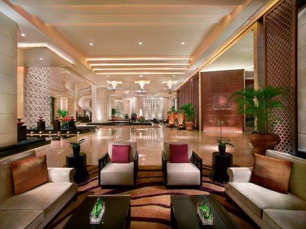 Banyan Tree Macau Lobby Sitting Area