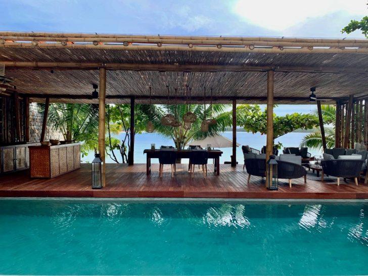 Bawah Reserve Deluxe Beach Villa Pool