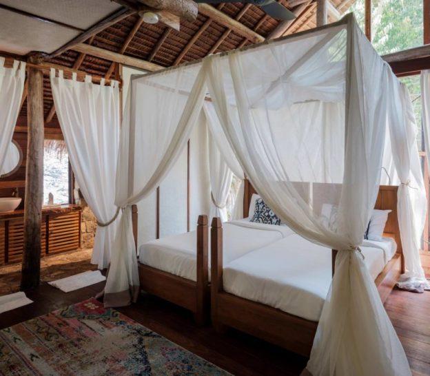 Bawah Reserve Jungle Lodge Bedroom