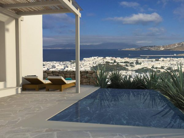 Belvedere Hotel Mykonos Hilltop Infinity Sea View Room Private Pool