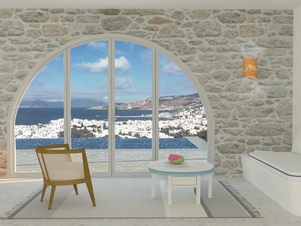 Belvedere Hotel Mykonos Hilltop Infinity Sea View Suite Private Pool