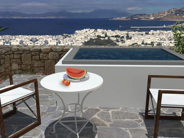Belvedere Hotel Mykonos Hilltop Superior Sea View Suite Private Jacuzzi