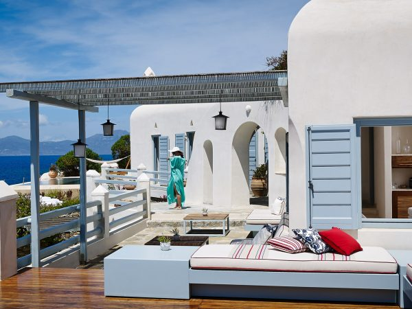 Belvedere Hotel Mykonos Island Suite With Private Sundeck
