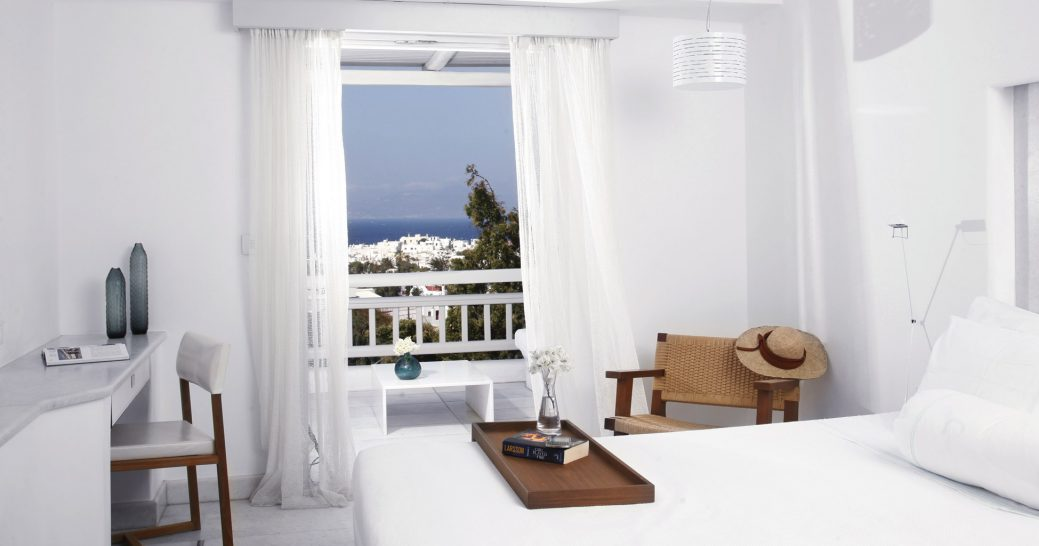 Belvedere Hotel Mykonos Panoramic Room Spectacular Sea View