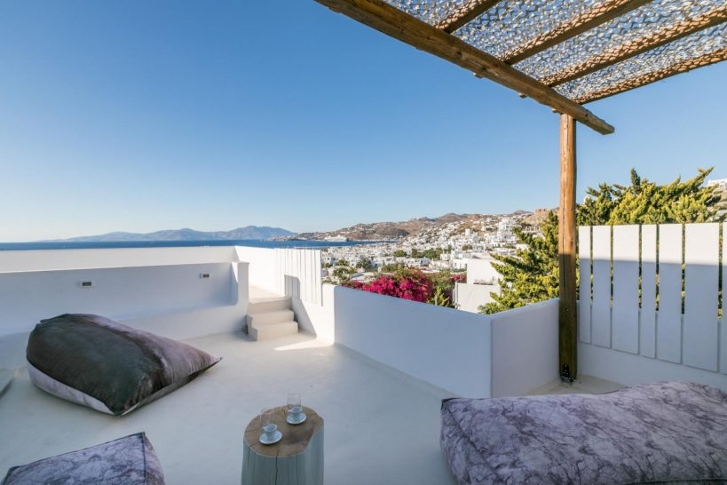 Belvedere Hotel Mykonos Summer 2 Bedroom Suite with Sea View