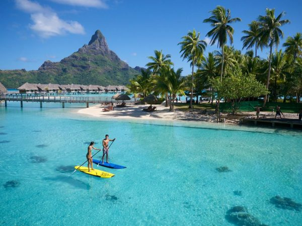InterContinental Bora Bora Resort Thalasso Spa Boat