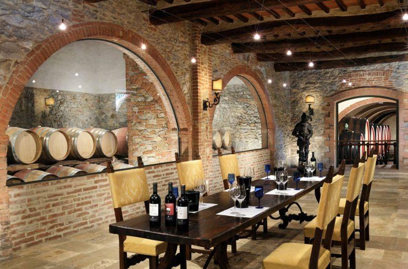 Borgo San Felice Wine Cellar