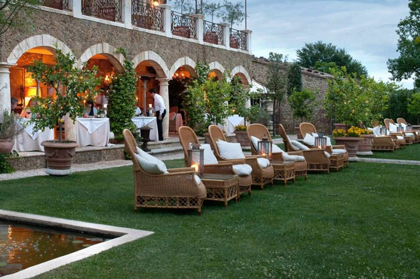 Borgo Santo Pietro Trattoria Sull Albero Terrace