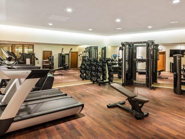 Capella Breidenbacher Hof Dsseldorf Fitness