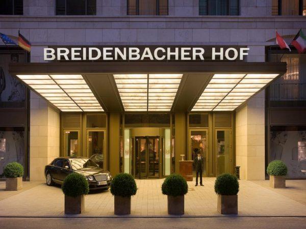 Capella Breidenbacher Hof Dsseldorf Front