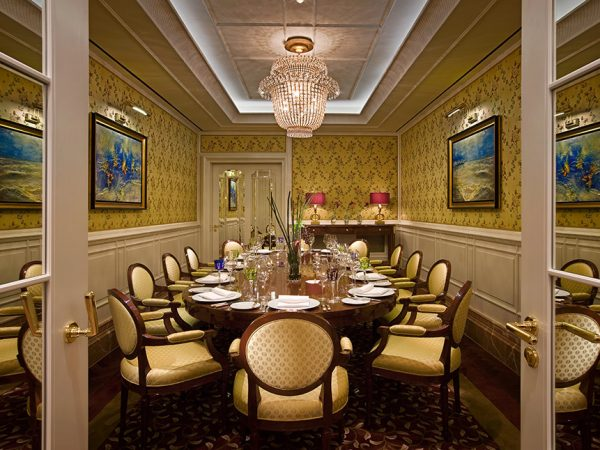 Capella Breidenbacher Hof Dsseldorf Private Dining