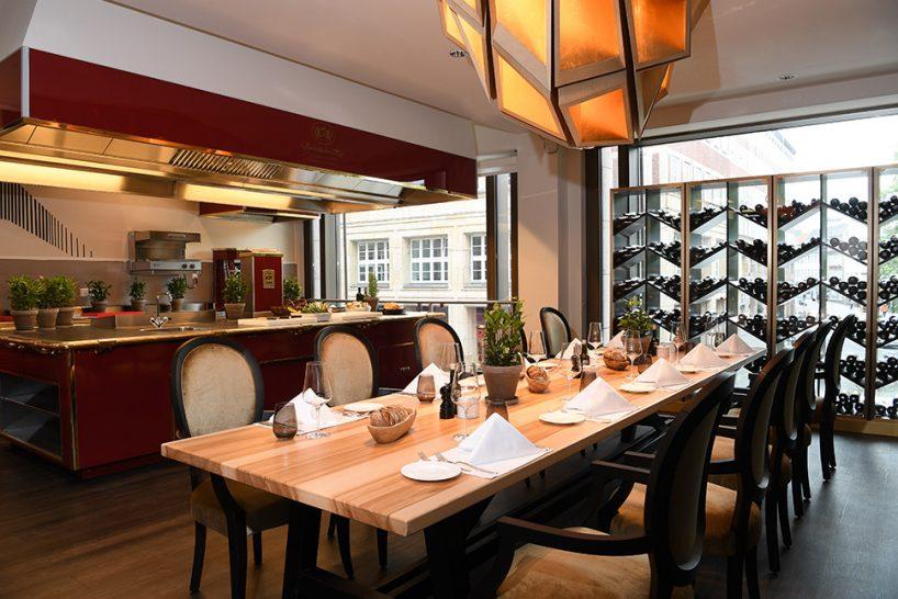 Capella Breidenbacher Hof Dsseldorf Show Kitchen