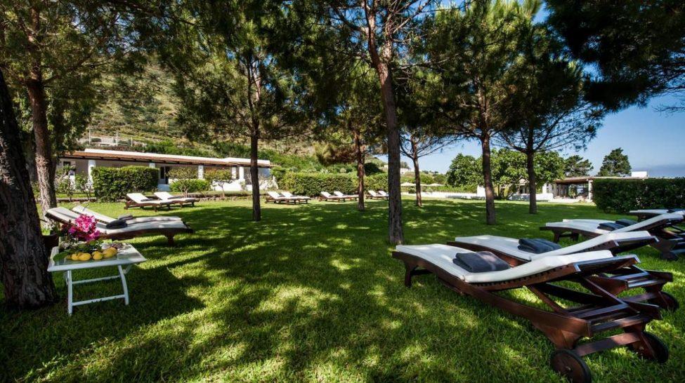 Capofaro Locanda and Malvasia poolside