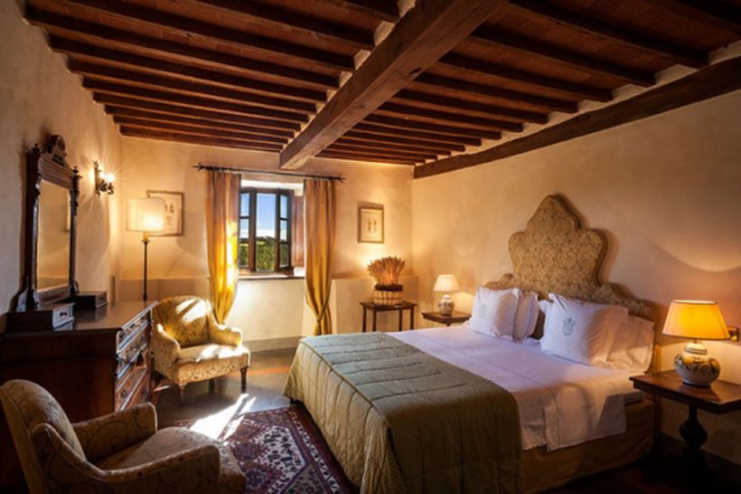 Castello di Spaltenna Deluxe Double Room