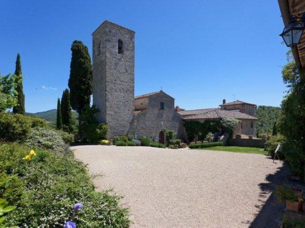 Castello di Spaltenna Hotel View