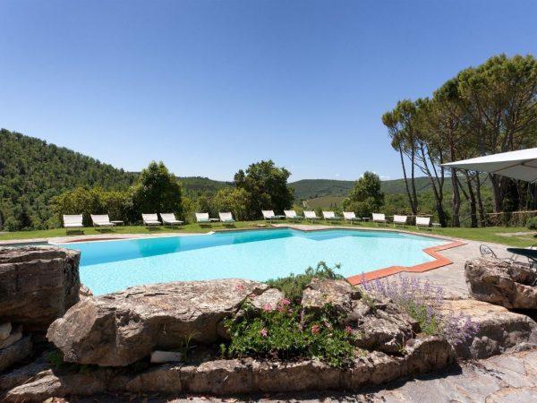 Castello di Spaltenna Outdoor Pool