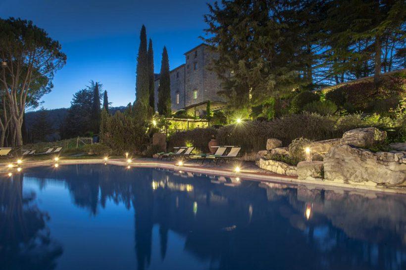 Castello di Spaltenna Pool