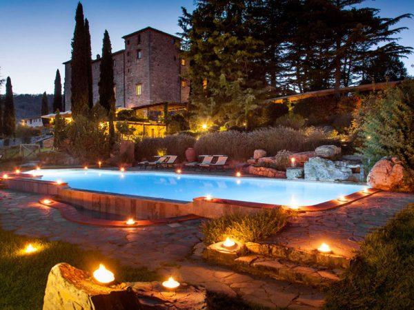 Castello di Spaltenna Pool View