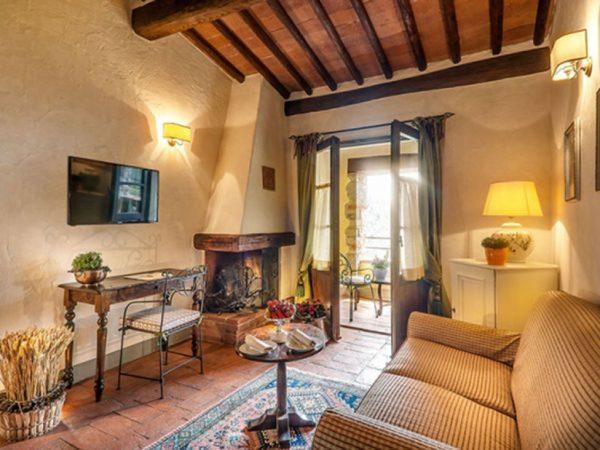 Castello di Spaltenna Terrace Suite