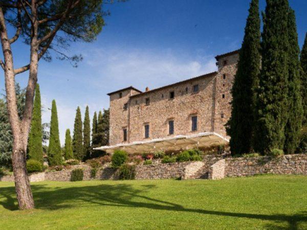 Castello di Spaltenna The terrace