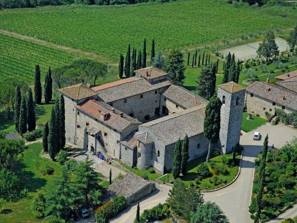 Castello di Spaltenna Top View